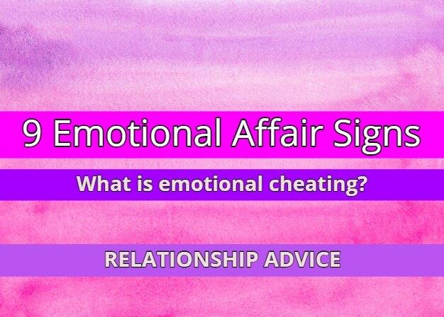 Emotional Affair Signs