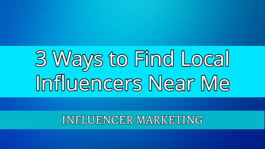 Local Influencers